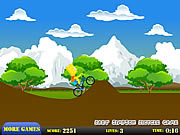 Bart Simpson bicycle game j�t�k