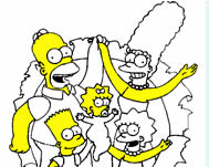 Coloring the Simpsons Csal�d j�t�kok ingyen