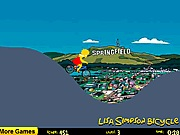Lisa Simpson bicycle Simpson j�t�kok