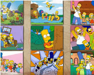 Simpsons jigsaw puzzle Simpson j�t�kok