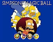 Simpsons magic ball Simpson Csal�d j�t�kok