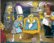 Simpsons treasure hunt Simpson j�t�kok