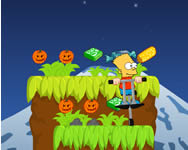 The Simpsons halloween jump Simpson Csal�d j�t�kok