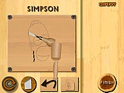Wood carving Simpson